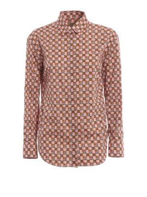 BURBERRY: camicie - Camicia in cotone Kestrel a quadri d'archivio