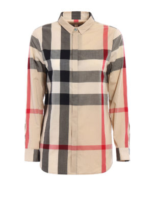 Burberry: shirts - New classic check shirt