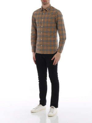 Burberry: shirts online - Alexander Check cotton shirt