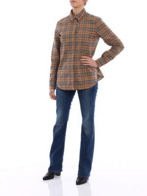 Burberry: shirts online - Burberry iconic print classic shirt