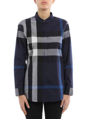 Burberry: shirts online - Fred button-down cotton shirt
