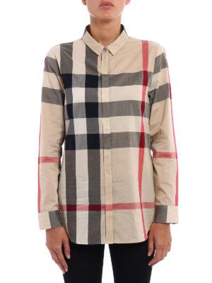 Burberry: shirts online - New classic check shirt