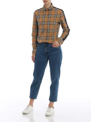 Burberry: shirts online - Saoirse vintage check tartan shirt
