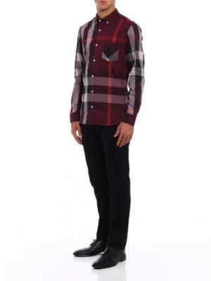 Burberry: shirts online - Thornaby check shirt