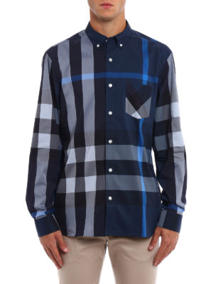 Burberry: shirts online - Thornaby chequered shirt