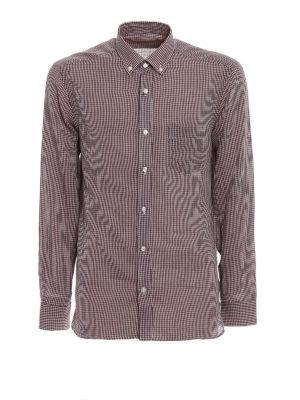 BURBERRY: camicie - Camicia Salwick in cotone vichy