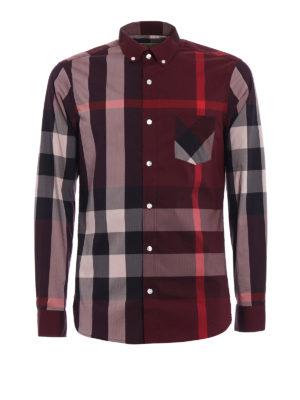 Burberry: shirts - Thornaby check shirt