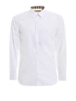 BURBERRY: camicie - Camicia William con polsi check