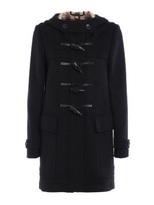 Burberry: short coats - Baysbrooke duffle coat