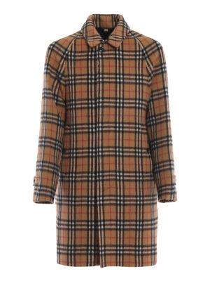 BURBERRY: cappotti corti - Cappotto corto Camden in alpaca e lana