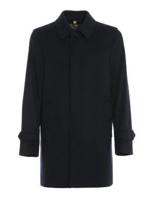 BURBERRY: cappotti corti - Cappotto corto Moorgate in lana e cashmere