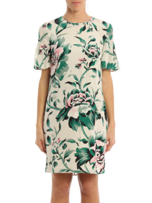 Burberry: short dresses online - Silk Anthia dress