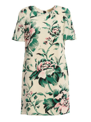 Burberry: short dresses - Silk Anthia dress