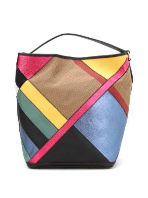 Burberry: shoulder bags - Ashby multicolour hobo bag