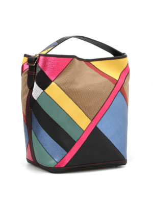 Burberry: shoulder bags online - Ashby multicolour hobo bag