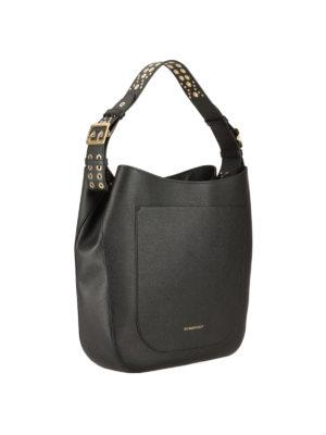 Burberry: shoulder bags online - Studded leather shoulder bag