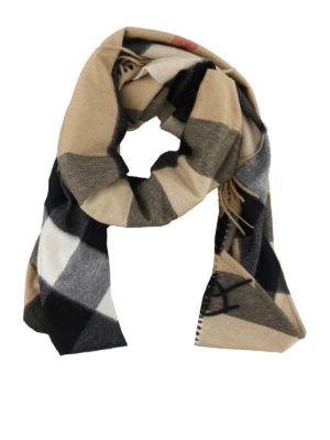 BURBERRY: Stole & Scialli - Scialle in cashmere tartan