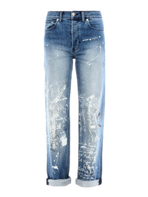 BURBERRY: jeans dritti