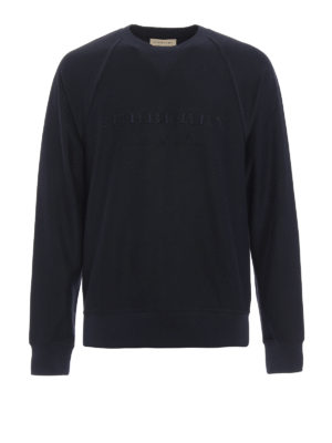 Burberry: Sweatshirts & Sweaters - Coleford cotton sweatshirt