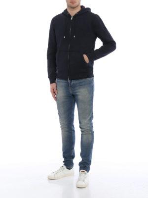 Burberry: Sweatshirts & Sweaters online - Check hood lining sweatshirt