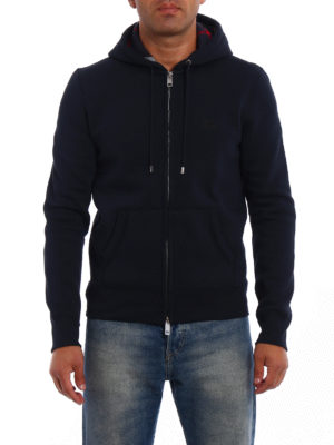 Burberry: Sweatshirts & Sweaters online - Cotton jersey zipped hoodie