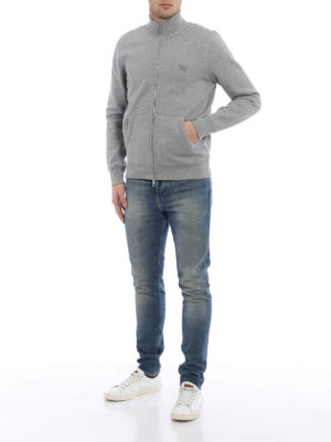 Burberry: Sweatshirts & Sweaters online - Ribbed panelled sweatshirt