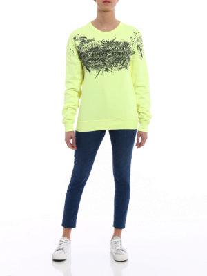 Burberry: Sweatshirts & Sweaters online - Sauer printed sketches sweatshirt