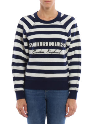 Burberry: Sweatshirts & Sweaters online - Selune wool and cashmere sweatshirt