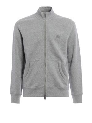 Burberry: Sweatshirts & Sweaters - Ribbed panelled sweatshirt