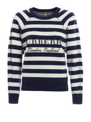 Burberry: Sweatshirts & Sweaters - Selune wool and cashmere sweatshirt
