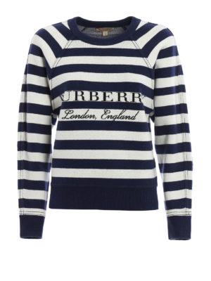 Burberry: Sweatshirts & Sweaters - Selune wool and cashmere sweatshirt