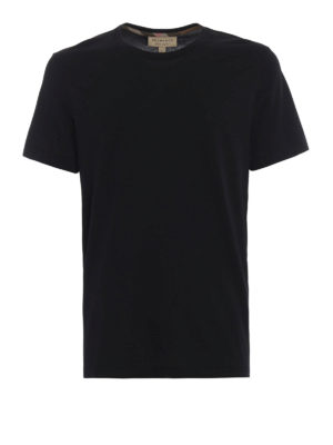 Burberry: t-shirts - Joeforth black jersey T-shirt