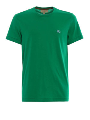 Burberry: t-shirts - Joeforth bright green jersey Tee