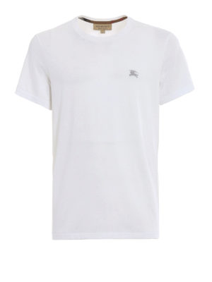 Burberry: t-shirts - Joeforth white jersey T-shirt
