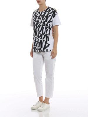 Burberry: t-shirts online - Cimarron cotton T-shirt