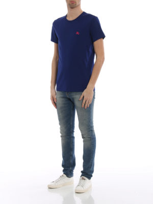 Burberry: t-shirts online - Joeforth bright navy jersey T-shirt