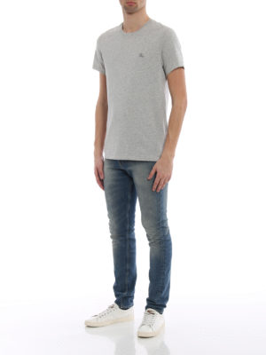 Burberry: t-shirts online - Joeforth grey jersey T-shirt