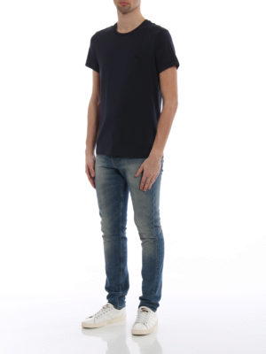 Burberry: t-shirts online - Joeforth navy jersey T-shirt