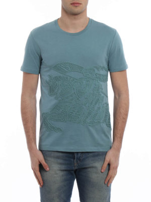 Burberry: t-shirts online - Rio embroidered T-shirt