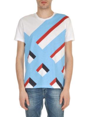 Burberry: t-shirts online - Wilmore geometric print T-shirt