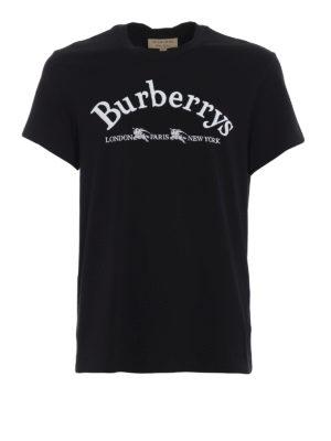 BURBERRY: t-shirt - T-shirt Pairi in cotone