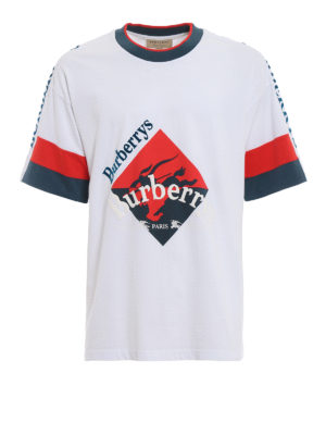 BURBERRY: t-shirt - T-shirt oversize Roeford