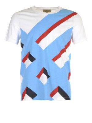 Burberry: t-shirts - Wilmore geometric print T-shirt