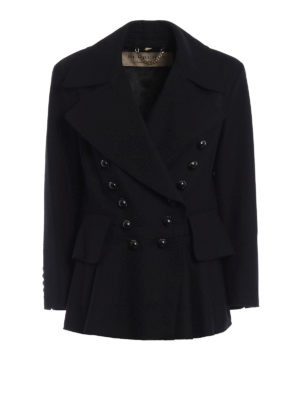 Burberry: Tailored & Dinner - Alvingham wool peplum jacket