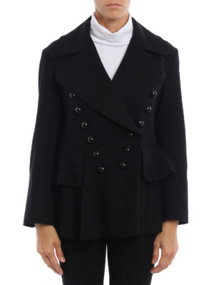 Burberry: Tailored & Dinner online - Alvingham wool peplum jacket
