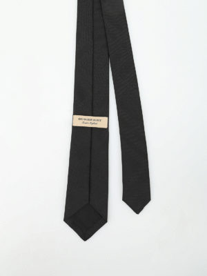 Burberry: ties & bow ties online - Stanfield Check silk tie