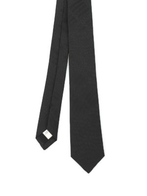 Burberry: ties & bow ties - Stanfield Check silk tie