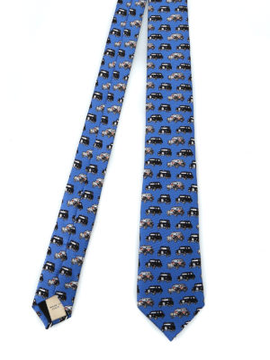BURBERRY: cravatte e papillion - Cravatta Stanfield in seta stampata