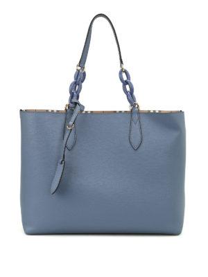 Burberry: totes bags - Haymarket reversible tote