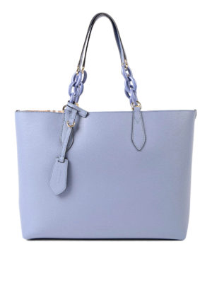 Burberry: totes bags - Medium reversible leather tote